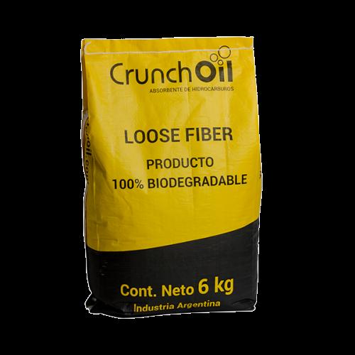 Crunchoil: absorvente de altas prestaciones para hidrocarburos y aceites